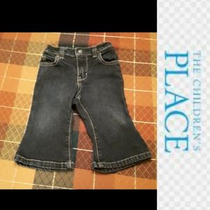 size 6-9M Baby flared blue jeans